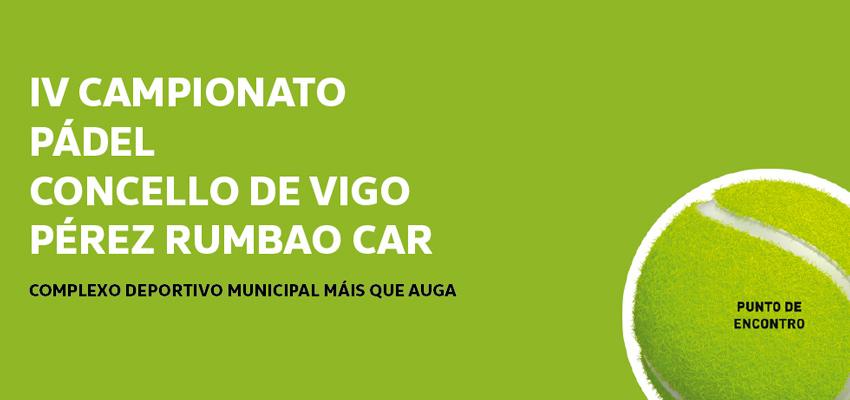 Satispasión Por La Raqueta: Campeonato De Pádel Concello De Vigo